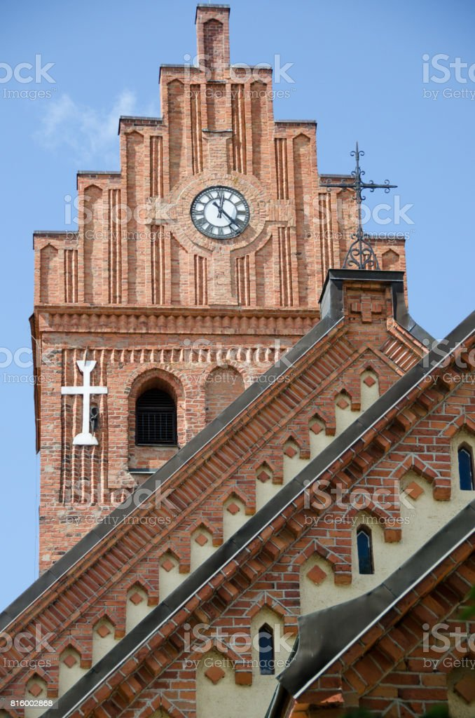 Torshalla kyrka stock photo