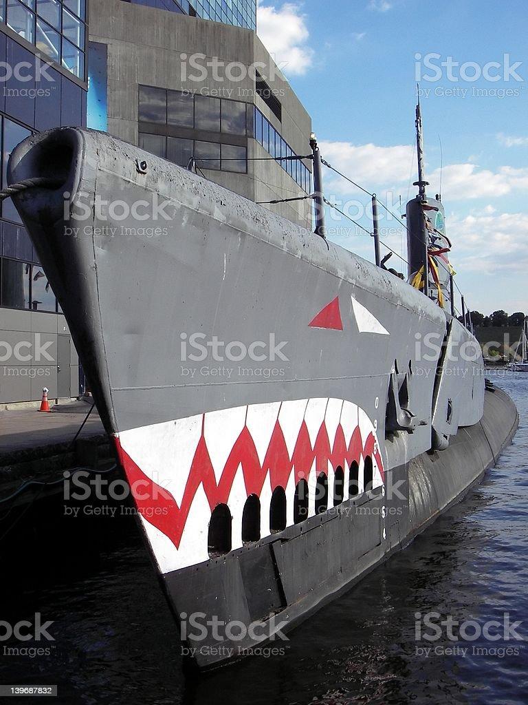 USS Torsk stock photo