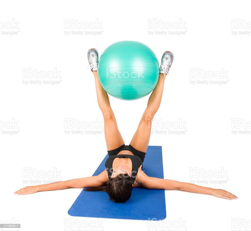 Torso Workout royalty-free stock photo