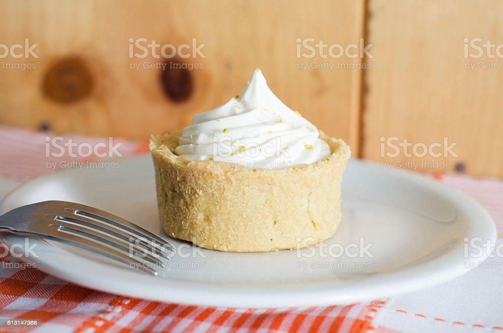torta de limão stock photo