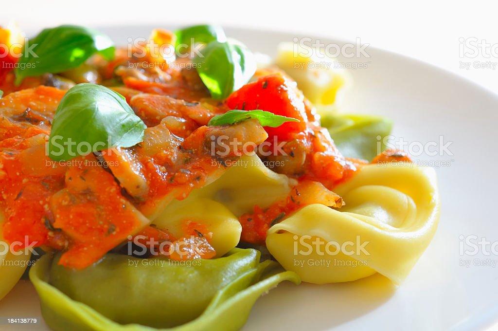 Tortellini royalty-free stock photo
