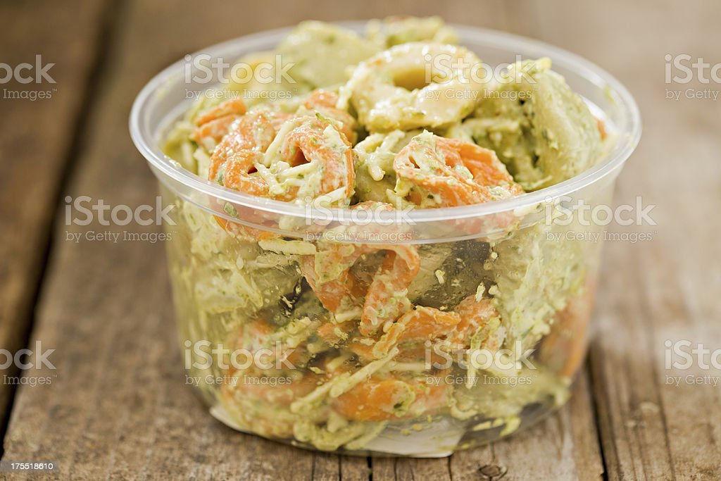 Tortellini Salad stock photo