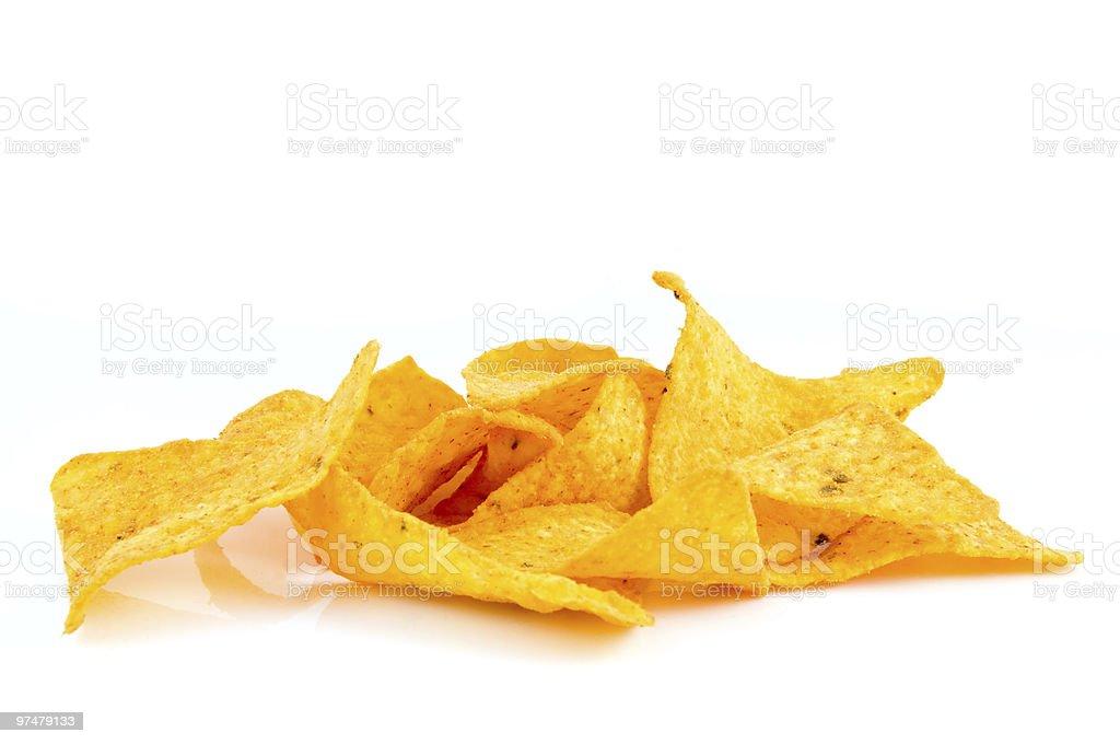 Tortilla chips photo libre de droits
