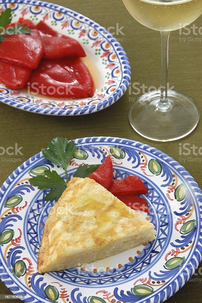 Tortilla Espanola stock photo