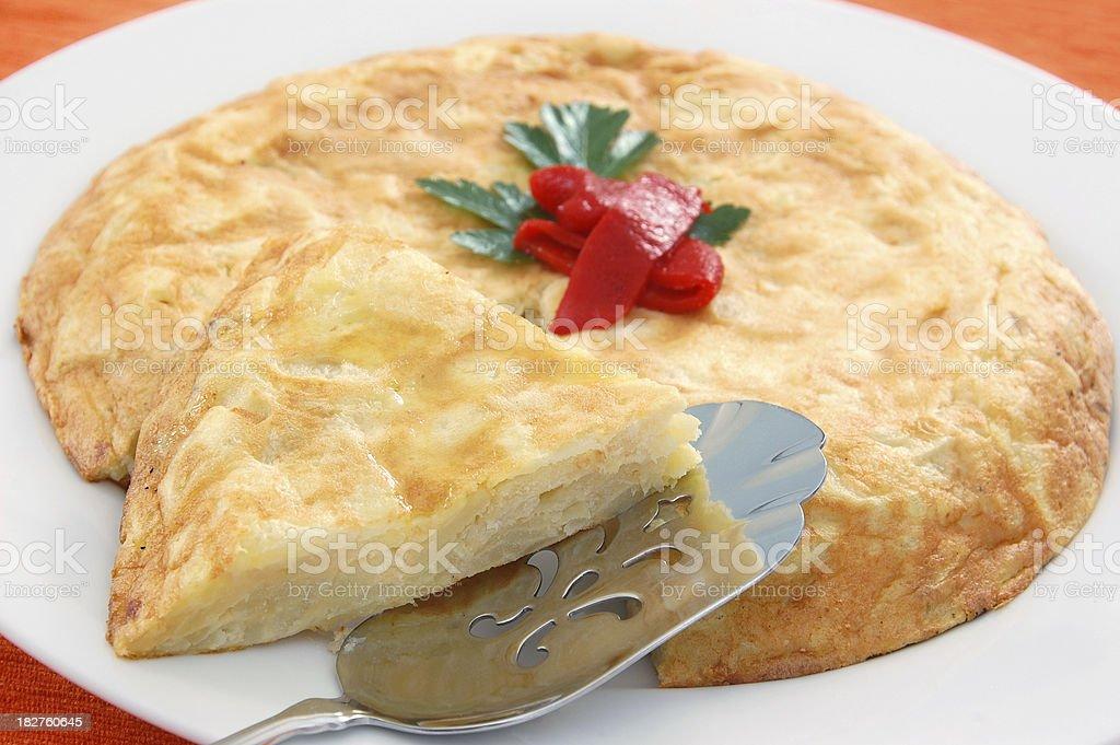 Tortilla Espanola royalty-free stock photo