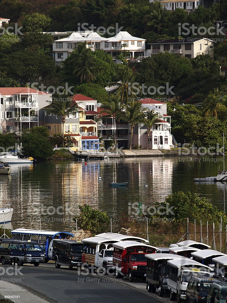 Tortola Reflection royalty-free stock photo