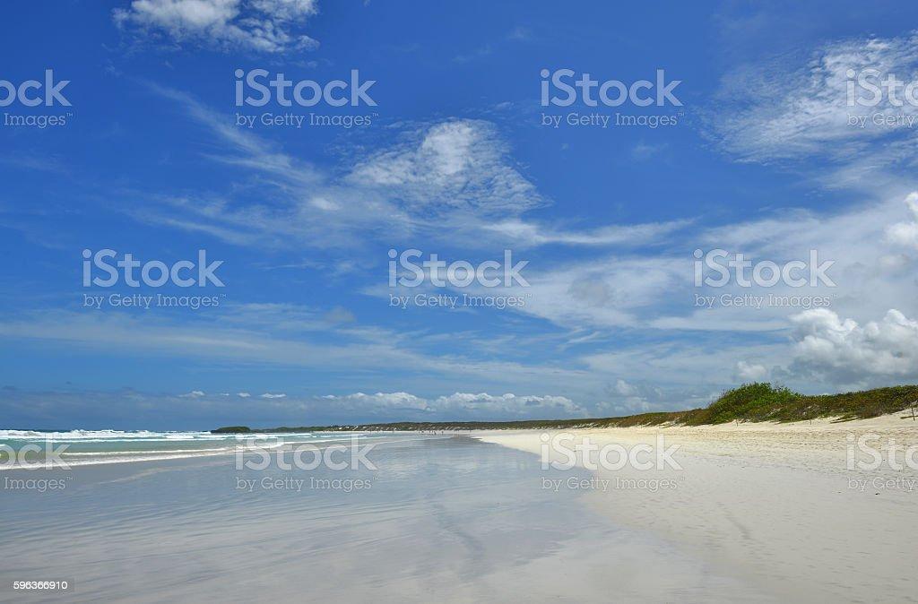 Tortuga Beach stock photo