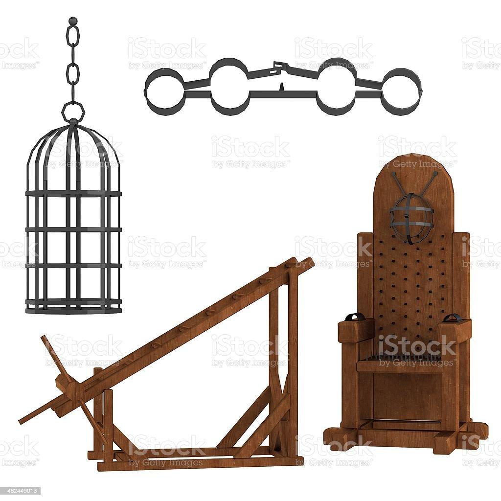tortural equipment stock photo