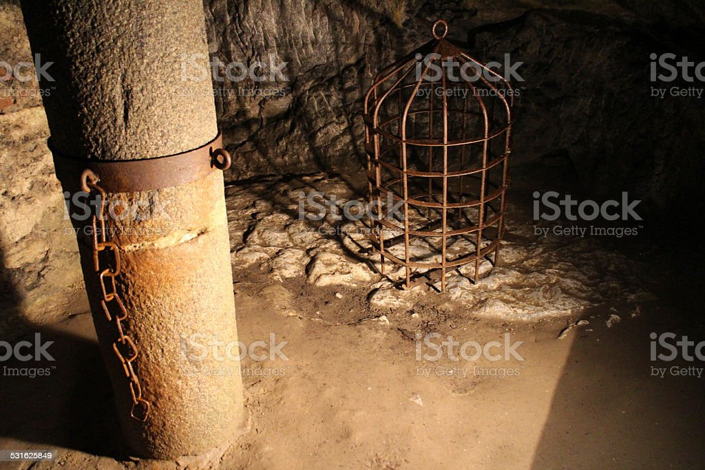 Torture Dungeon stock photo