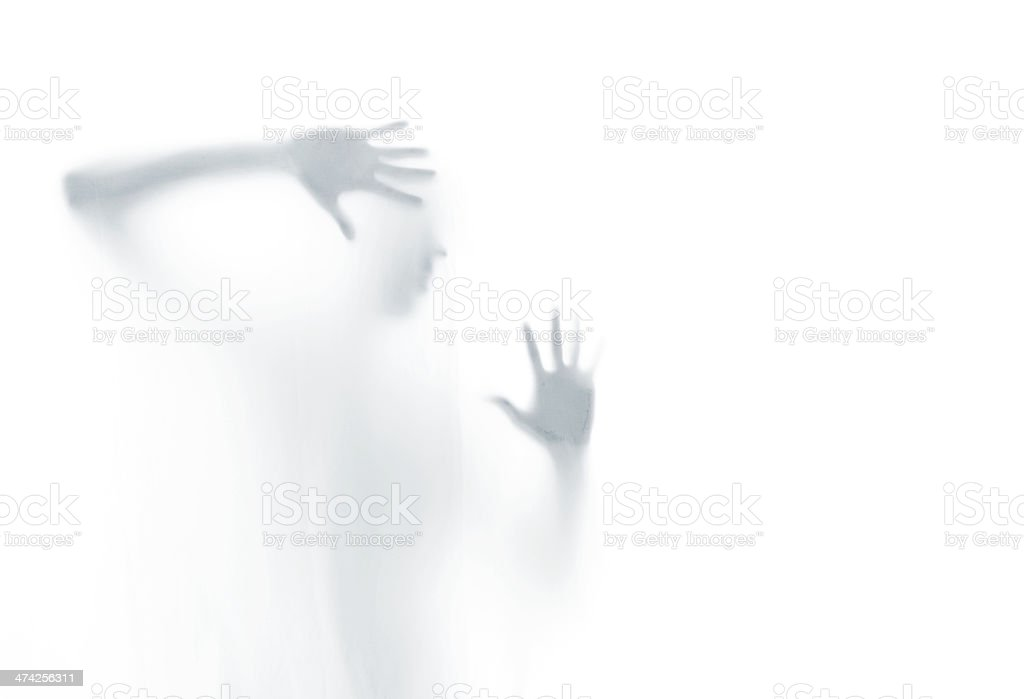 Tortured Soul royalty-free stock photo