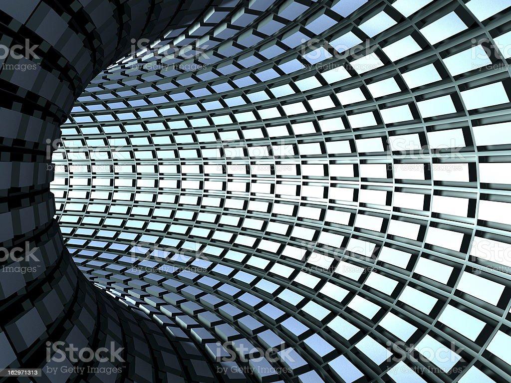 torus tunnel stock photo