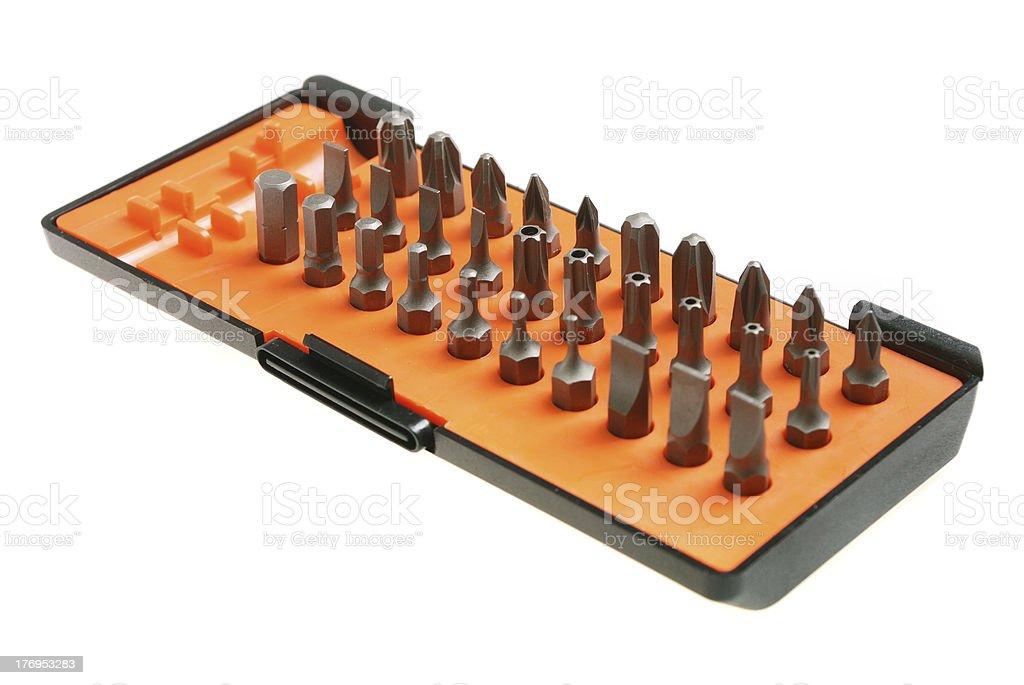 torx socket set stock photo