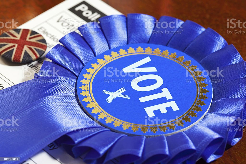 Tory Party Vote stock photo