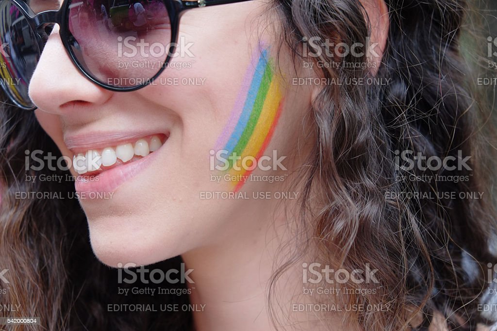 Toscana Pride 2016. Florence,Italy. stock photo