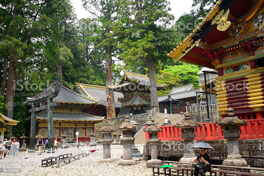 Toshogu, Nikko, Japan stock photo