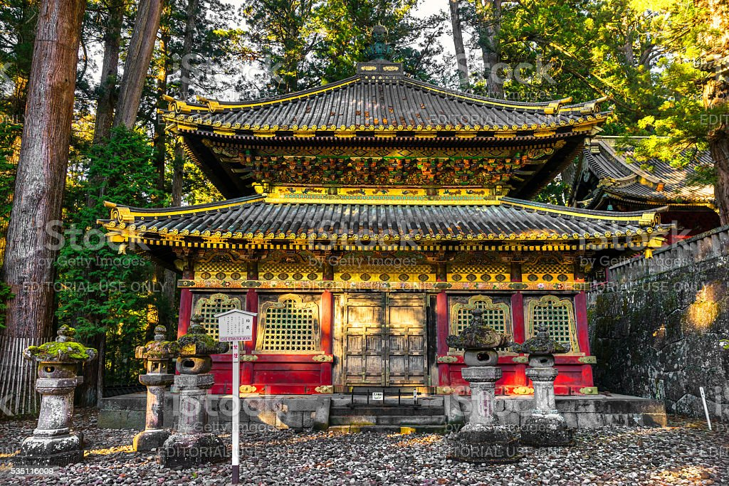 Toshogu-Schrein, Nikko, Japan. – Foto