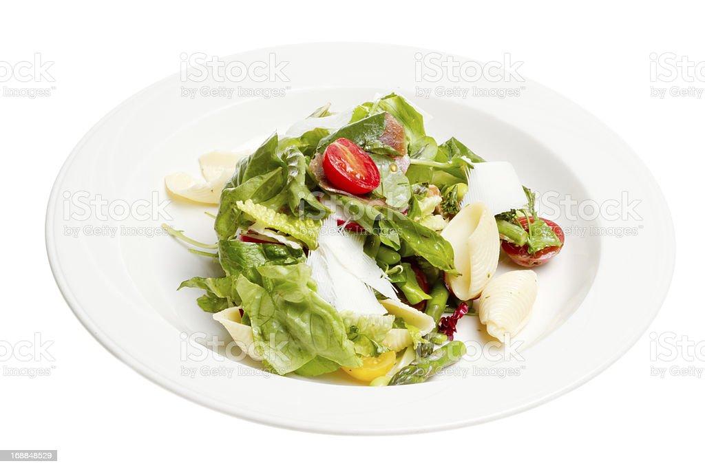Tossed Green Salad stock photo
