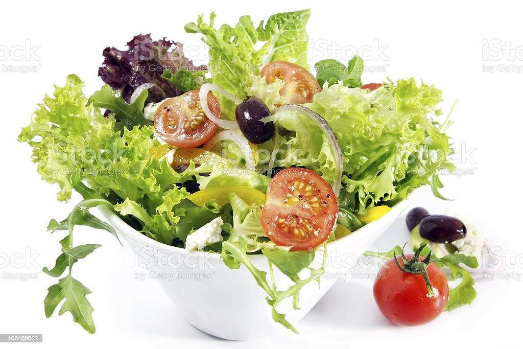 Tossed Salad royalty-free stock photo
