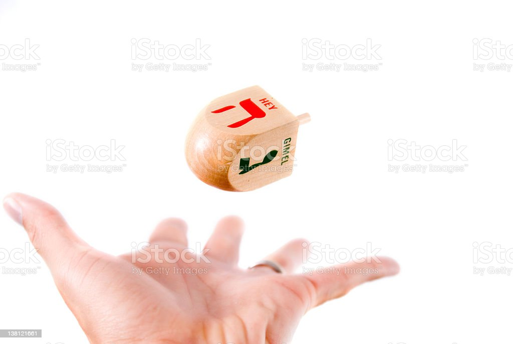 Tossing a Dradle stock photo