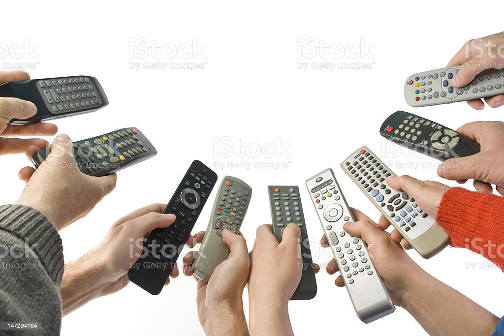 Total control stock photo