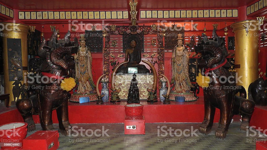 Total god of the Chinese People stock photo