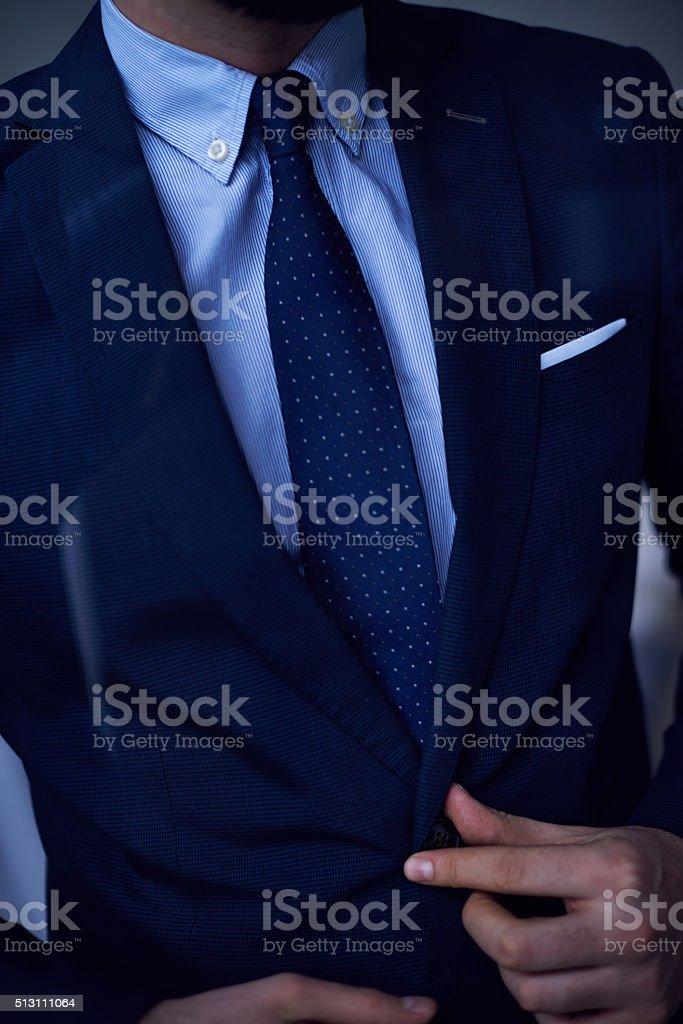 Total male elegance stock photo