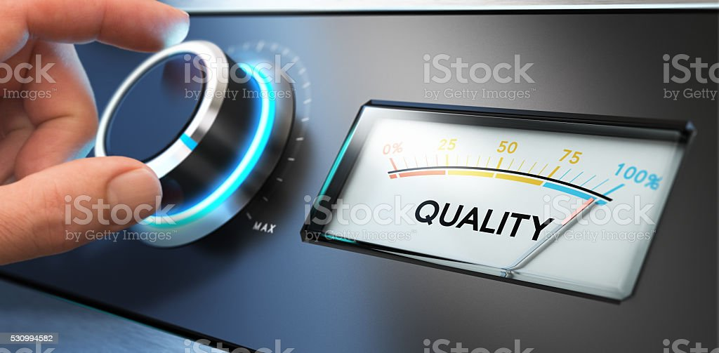 Total Quality Management, TQM stock photo