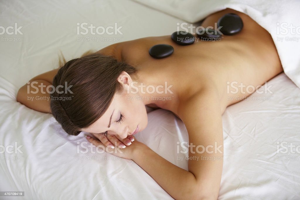 Total relaxation royalty-free stock photo