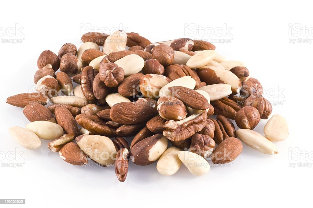 Totally nuts. stock photo