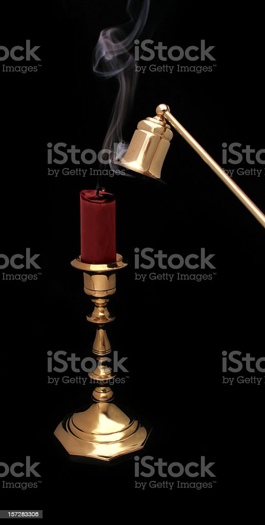 Totally Snuffed royalty-free stock photo