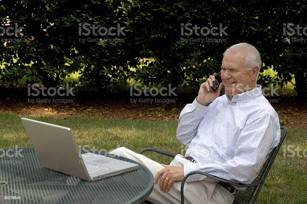 Totally Wireless royalty-free stock photo