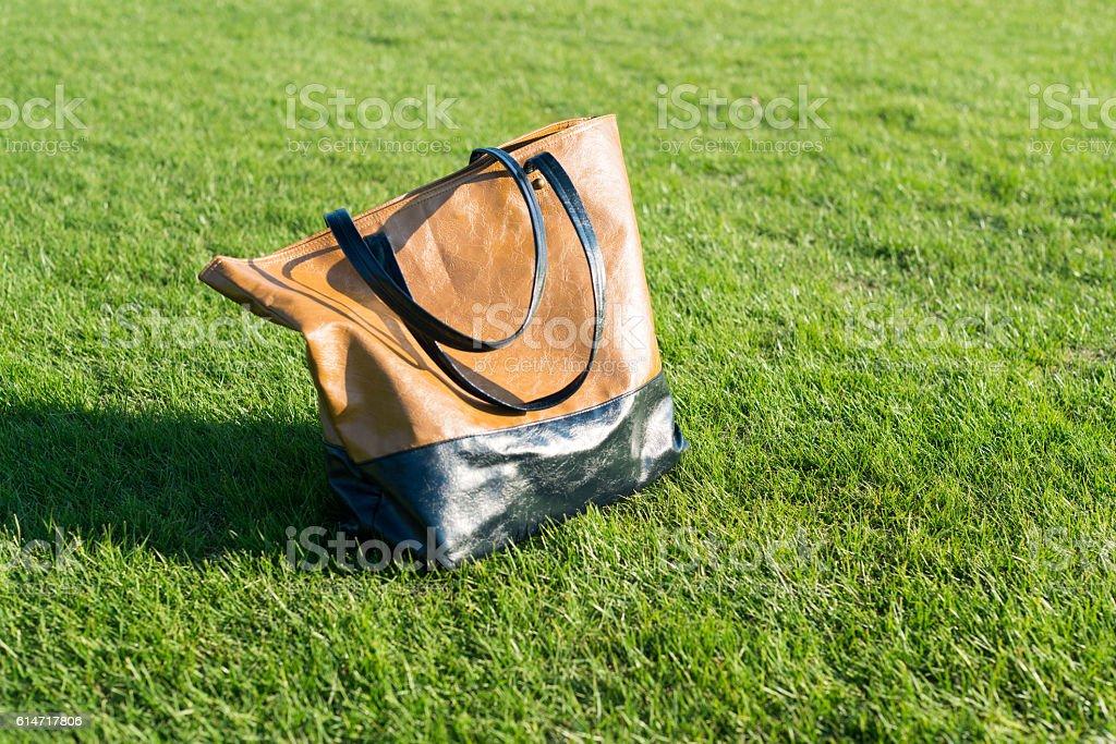 Tote bag stock photo