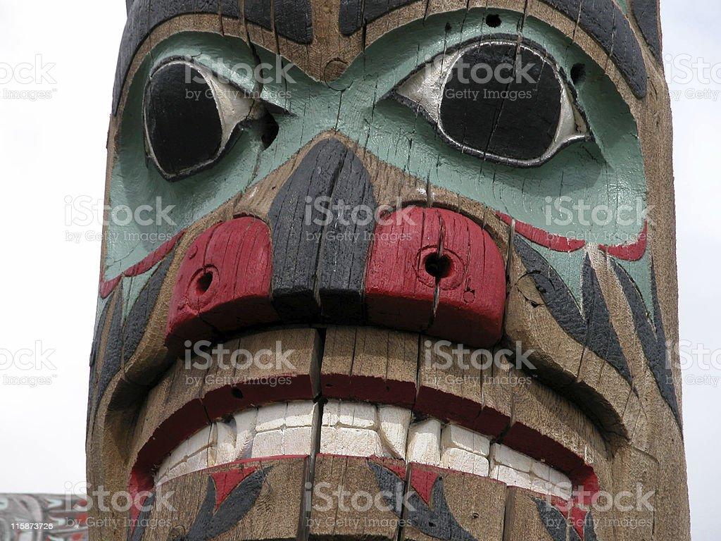 Totem royalty-free stock photo