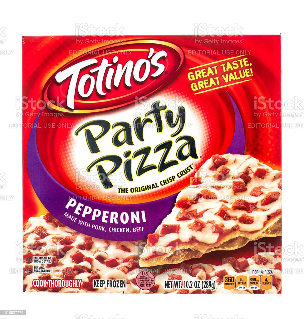 Totino's Party Pizza stock photo