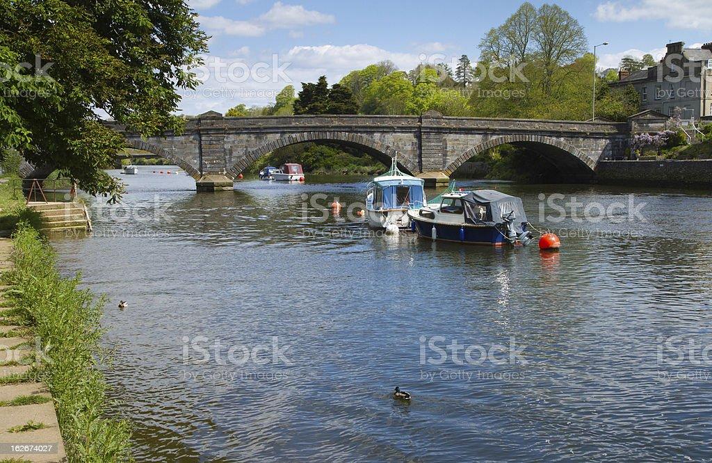 Totnes Devon England stock photo