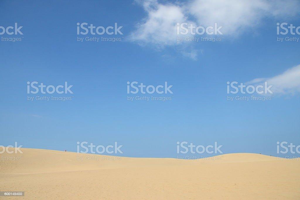 Tottori Sand Dunes in JAPAN stock photo