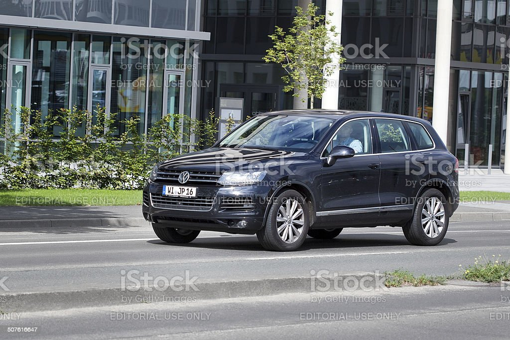 VW Touareg II royalty-free stock photo