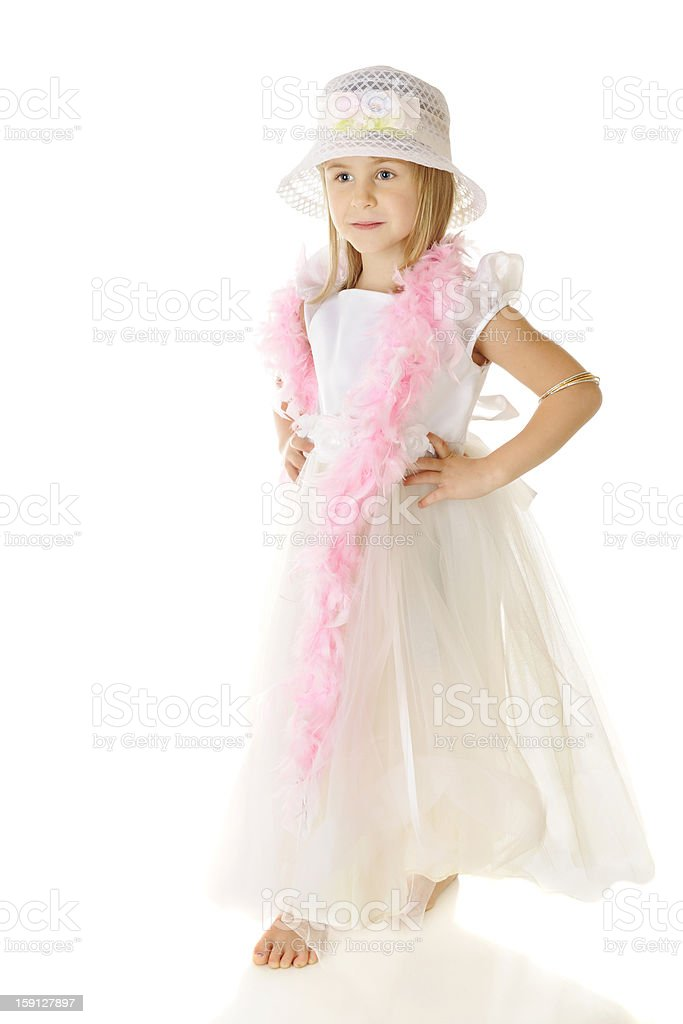 Touch of Pink royalty-free stock photo