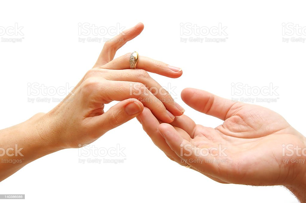 Touch... royalty-free stock photo