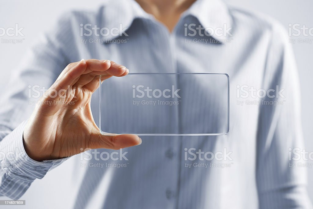 Touch screen concept royalty-free stock photo