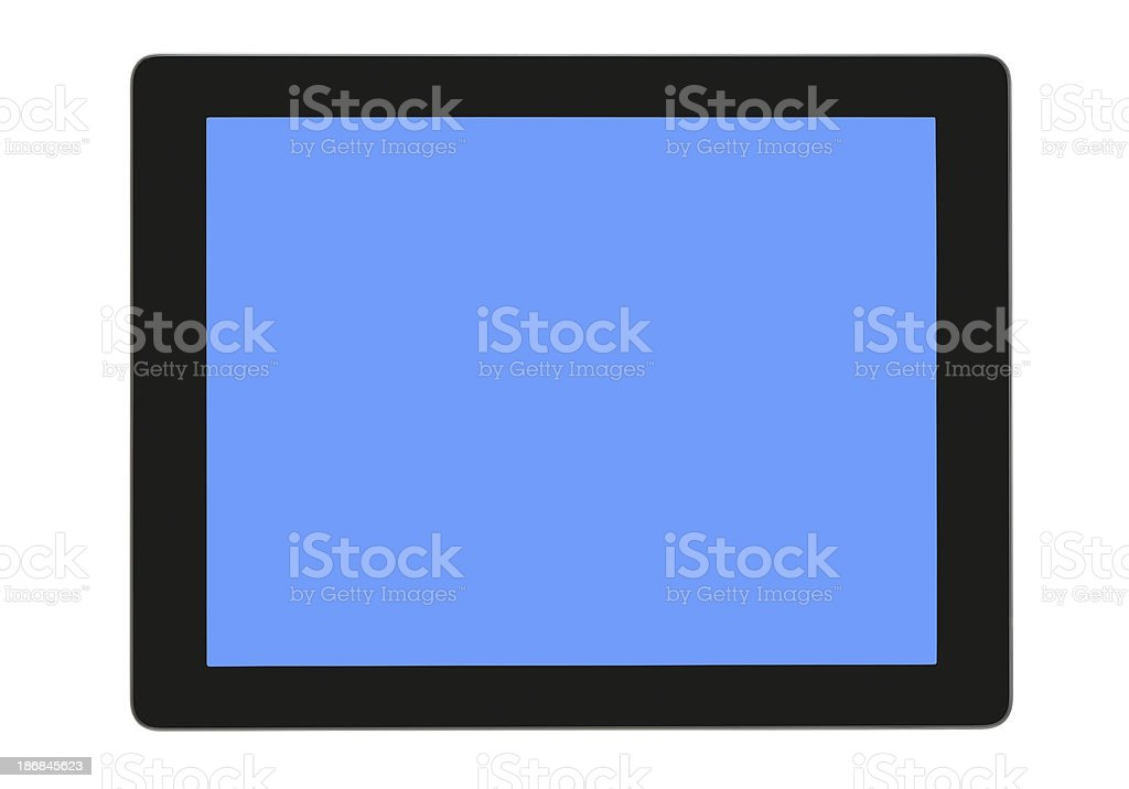 Touch Screen pc royalty-free stock photo