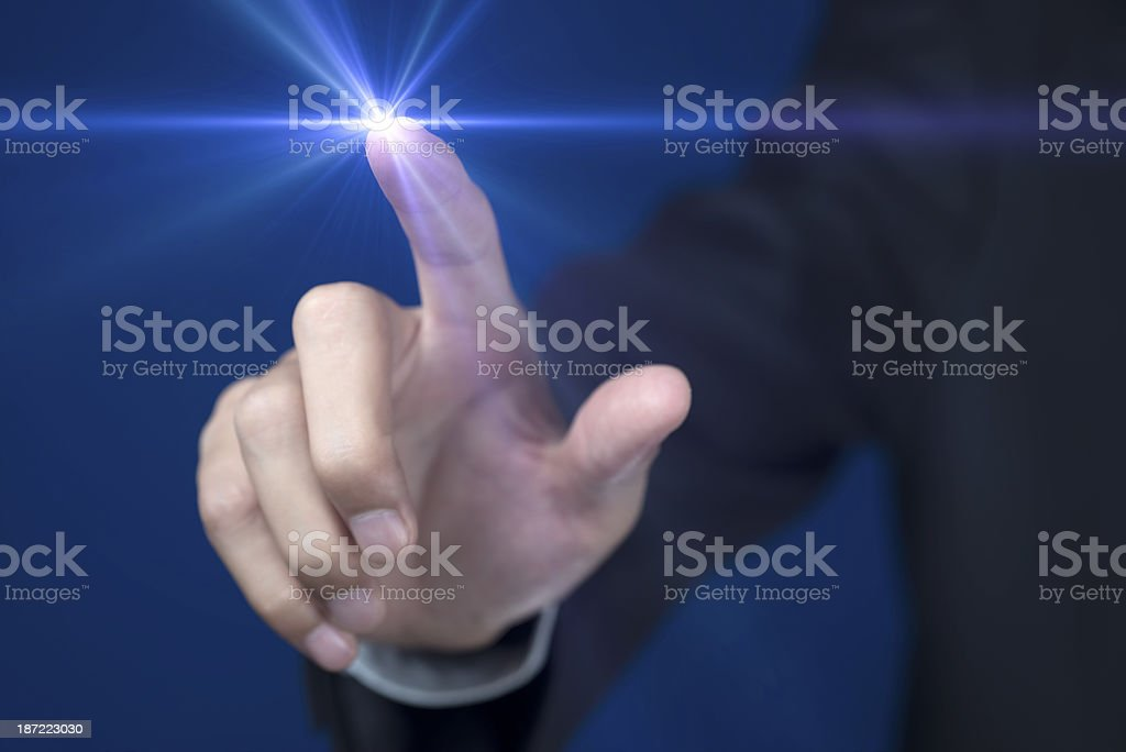 Touch Screen royalty-free stock photo