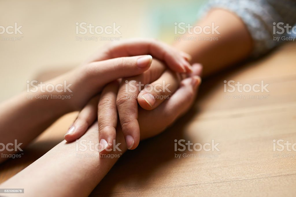 Touch someone's life with kindness stock photo