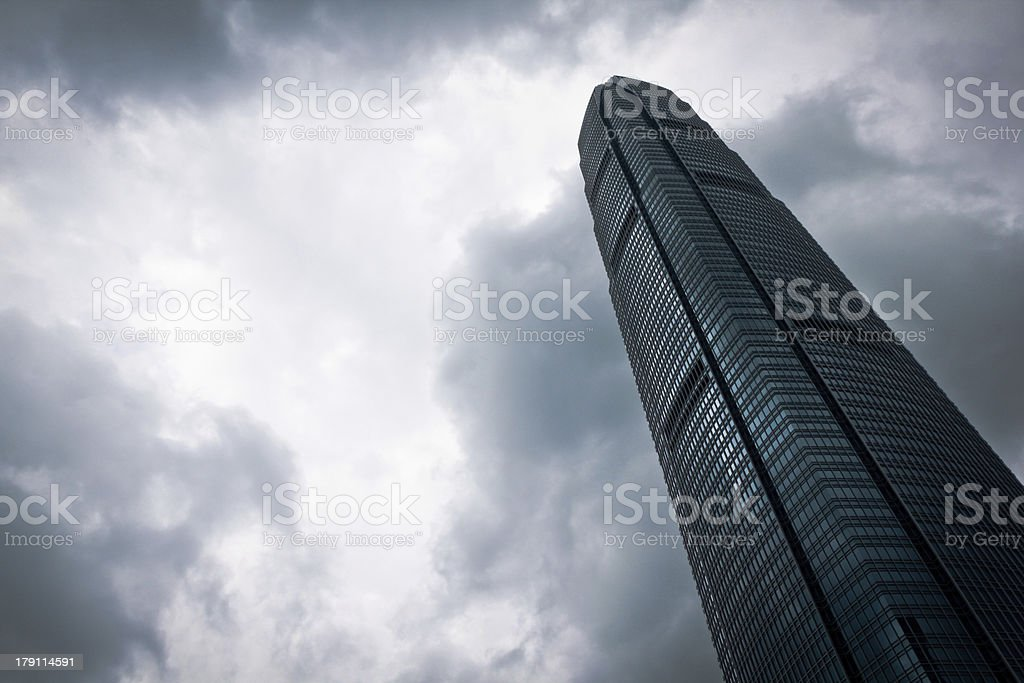 Touch The Sky royalty-free stock photo