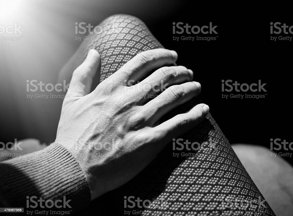 touch you, love you stock photo