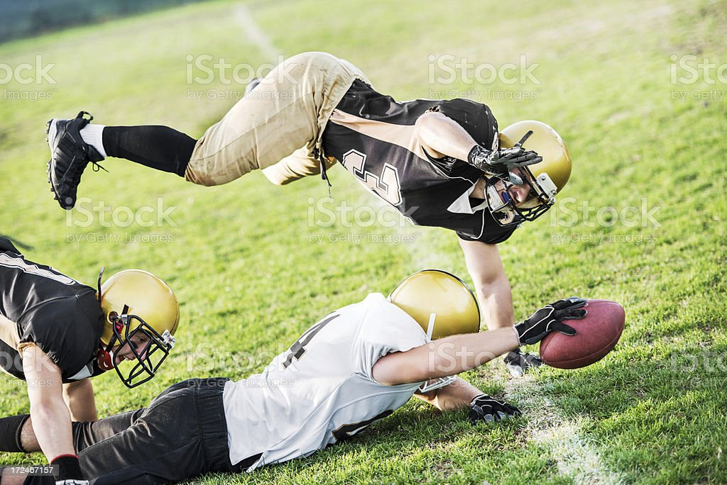 Touchdown. royalty-free stock photo