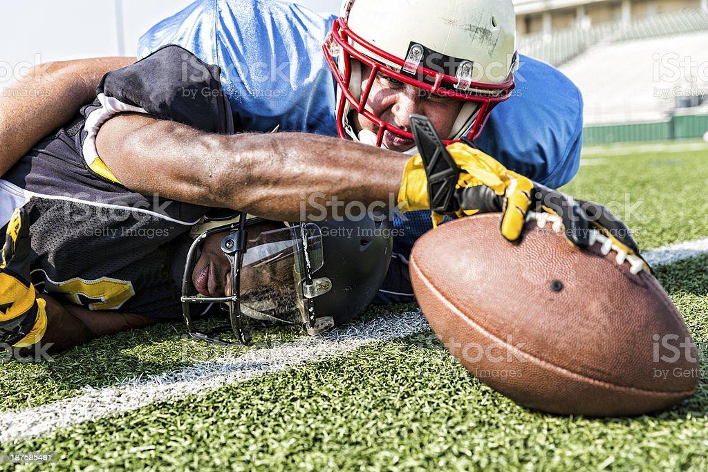 Touchdown stock photo