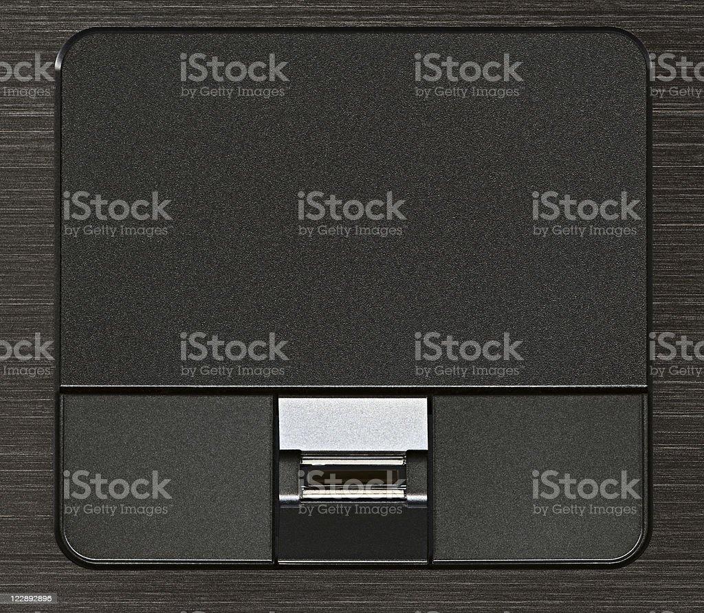 Touchpad stock photo