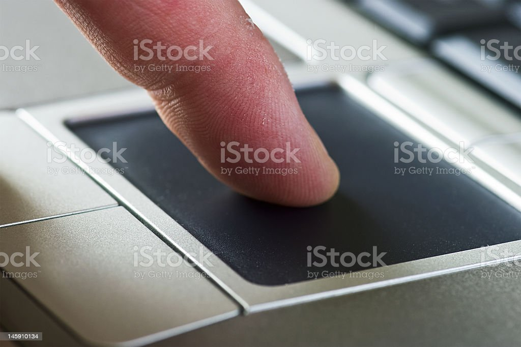 Touchpad royalty-free stock photo