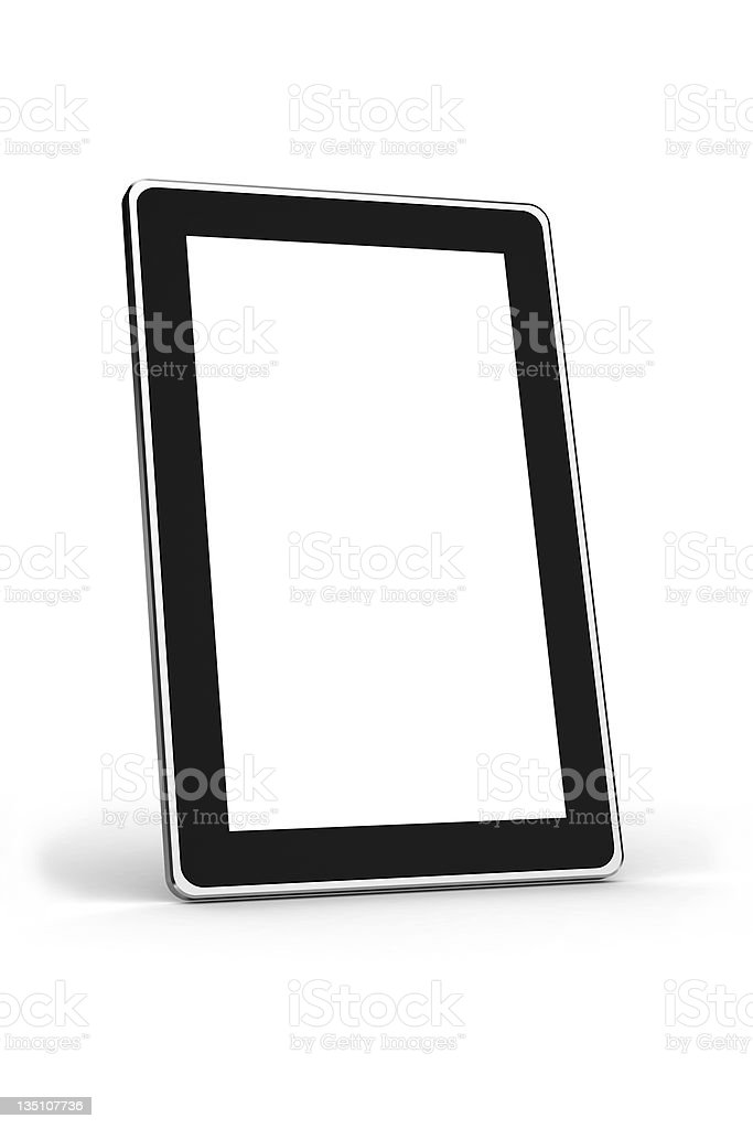 Touchscreen Notebook royalty-free stock photo